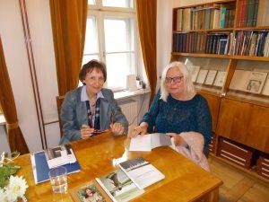 Teresa Tomsia i Eugenia Kolanowska
